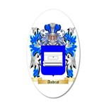 Andrat 35x21 Oval Wall Decal