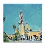 Plaza de Panama Balboa Park Tile Coaster