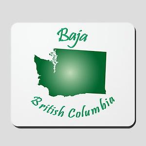 Baja British Columbia-Light Bgnd Mousepad