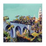 Cabrillo Bridge Balboa Park San Diego Tile Coaster