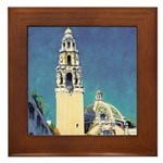 San Diego-Balboa Park Framed Tile