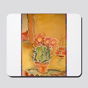 Cactus! Southwest art! Mousepad