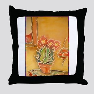 Cactus! Southwest art! Throw Pillow