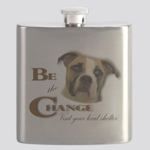 Be the Change Pit Flask