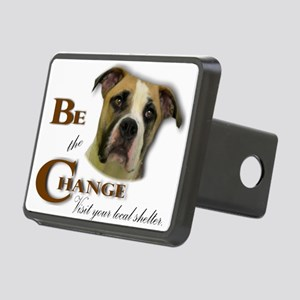 Be the Change Pit Rectangular Hitch Cover