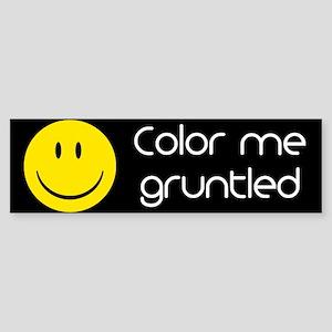 Gruntled Sticker (Bumper)