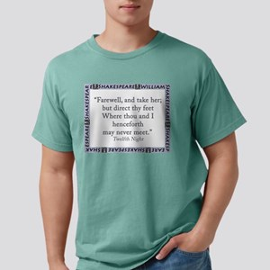 Farewell, And Take Her Mens Comfort Colors Shirt