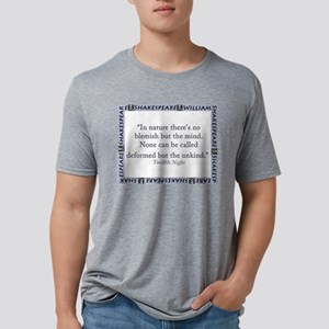In Nature Theres No Blemish Mens Tri-blend T-Shirt
