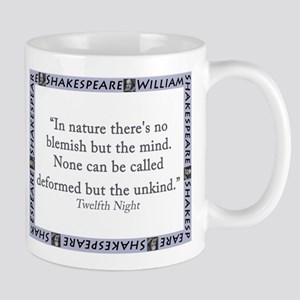 In Nature Theres No Blemish 11 oz Ceramic Mug
