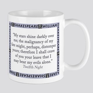 My Stars Shine Darkly Over Me 11 oz Ceramic Mug