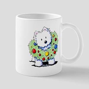 Westie Wreath Mug