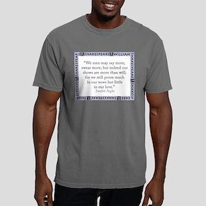 We Men May Say More Mens Comfort Colors Shirt