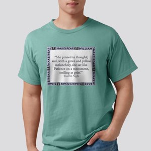 She Pinned In Thought Mens Comfort Colors Shirt