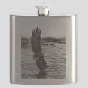 Vertical Eagle Flask
