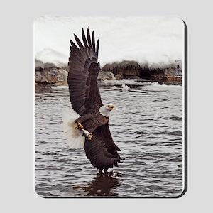 Vertical Eagle Mousepad