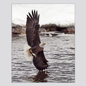 Vertical Eagle Small Poster