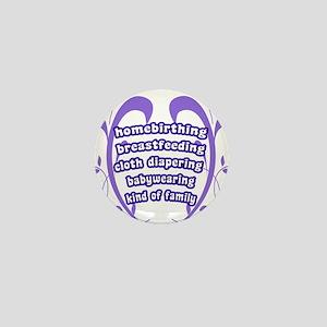 Crunchy Family Mini Button