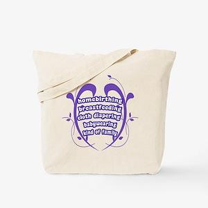 Crunchy Family Tote Bag
