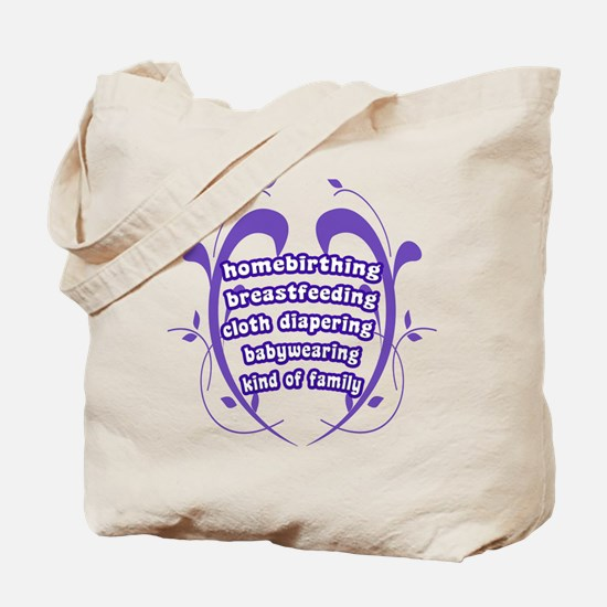 Crunchy Family Tote Bag