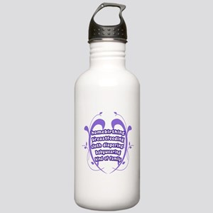 Crunchy Family Stainless Water Bottle 1.0L