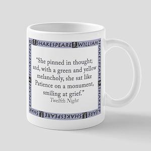 She Pinned In Thought 11 oz Ceramic Mug