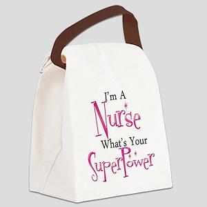 Super Nurse Canvas Lunch Bag