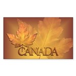 Stickers Magnets Canada  Sticker (Rectangle 10 pk)