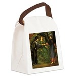 The Heart of the Rose Canvas Lunch Bag