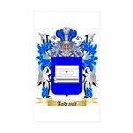 Andrault Sticker (Rectangle 50 pk)