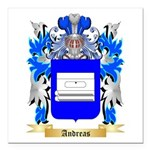 Andreas Square Car Magnet 3