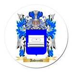 Andreetti Round Car Magnet