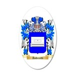Andreetti 35x21 Oval Wall Decal