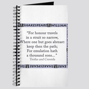 For Honour Travels In A Strait So Narrow Journal