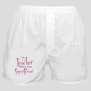 Super Teacher Boxer Shorts