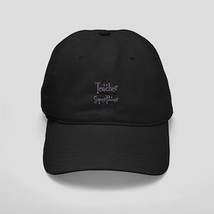 Super Teacher Black Cap