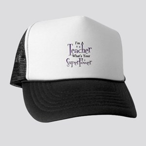 Super Teacher Trucker Hat
