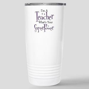 Super Teacher Stainless Steel Travel Mug