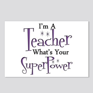 Super Teacher Postcards (Package of 8)