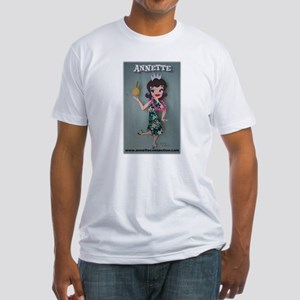 Pineapple Princess Annette Fitted T-Shirt