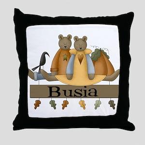 Autumn Busia Throw Pillow
