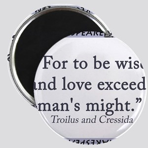For To Be Wise and Love Magnet