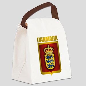 Denmark (Gold Label) Canvas Lunch Bag
