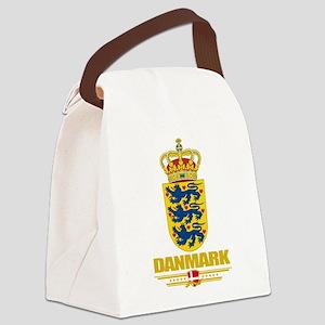 Denmark COA(Flag 10) Canvas Lunch Bag