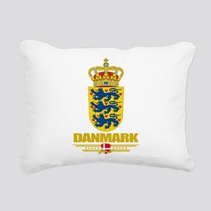 Denmark COA(Flag 10) Rectangular Canvas Pillow
