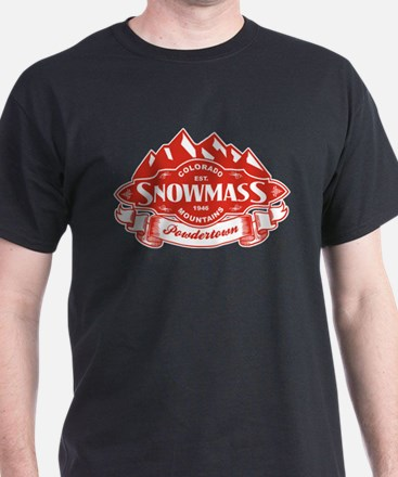 Snowmass Mountain Emblem T-Shirt
