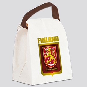 Finnish Gold Canvas Lunch Bag