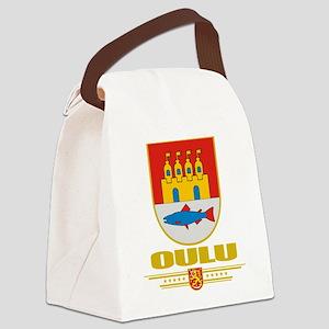 Oulu COA (Flag 10) Canvas Lunch Bag