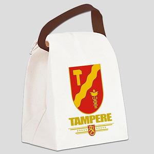 Tampere COA (Flag 10) Canvas Lunch Bag