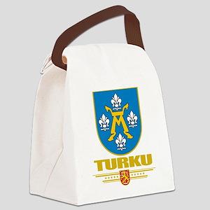 Turku COA (Flag 10) Canvas Lunch Bag