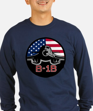B-1B Lancer Long Sleeve T-Shirt (Dark)